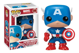 Funko Pop 06 Capitan America Marvel