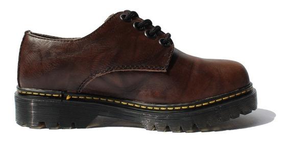 Zapato Tipo Dr. Martens ( Café )
