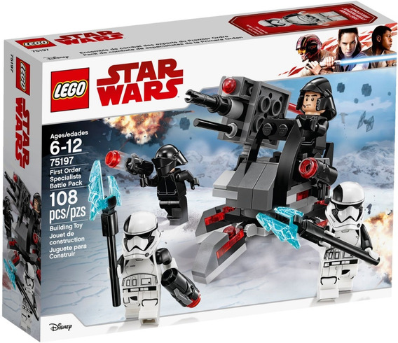 Lego 75197 Star Wars Pack De Combate De Especialistas