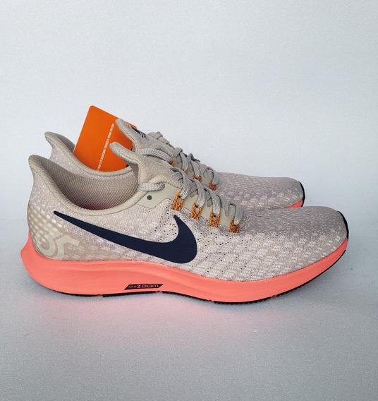 Tênis Nike Air Zoom Pegasus 35 Bege Running