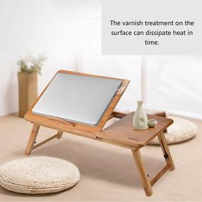 Madera Cam Laptop Mesa De Plegable Portátil Sofá Bambú nm8vNw0