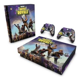 Skin Xbox One X Adesivo Fortnite Battle Royale