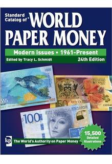 Catalogo Papel Moneda World Paper Money 24th Edition