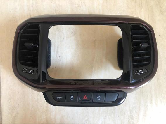 Difusor Ar Com Moldura Fiat Toro Não Acompanha Botão