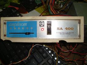 Raro Mini Amplificador Amplisom Cadensa Sa 400 Só A Placa