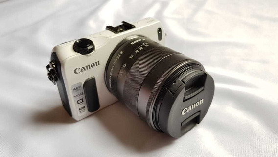 Camera Canon M Mirrorless (kit) Nova!
