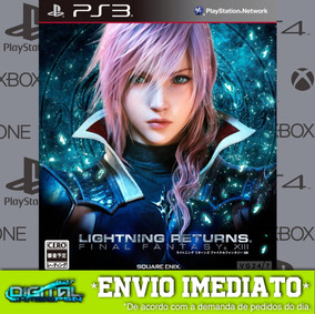 Final Fantasy Xiii Lightning Returns Ps3 Envio Hj.