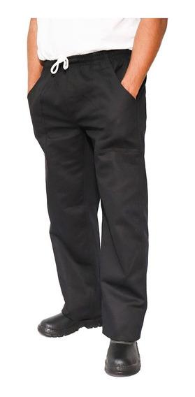 Calças Brim Pesado Preto(10g 10xg) Uniforme Profissional