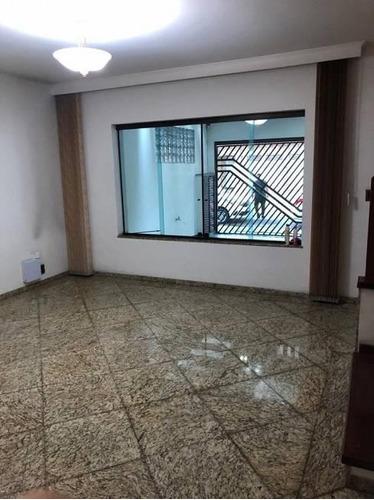 Sobrado Com 3 Dormitórios, 150 M² - Venda Por R$ 1.000.000,00 Ou Aluguel Por R$ 4.000,00/mês - Jardim - Santo André/sp - So1554