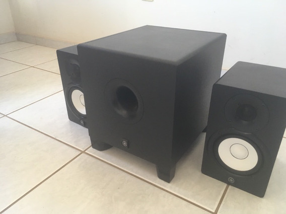 Monitores De Audio Yamaha Hs5 + Subwoofer Hs8s (usado)