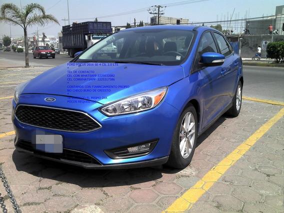 Ford Focus Se 4 Cil Standar 2.0 Lts Sedan Tela Eng $ 42,000