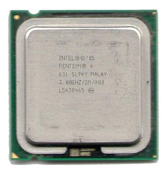 Processador P4 Intel 3.0ghz Skt 775 P/pc. Envio Td.brasil