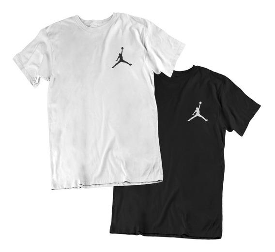 Kit C 2 Camiseta Air Jordan Basquete Oferta Blusa Atacado