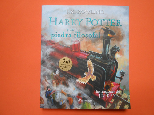Harry Potter Y La Piedra Filosofal Ilustrado Tapa Blanda Mercado Libre