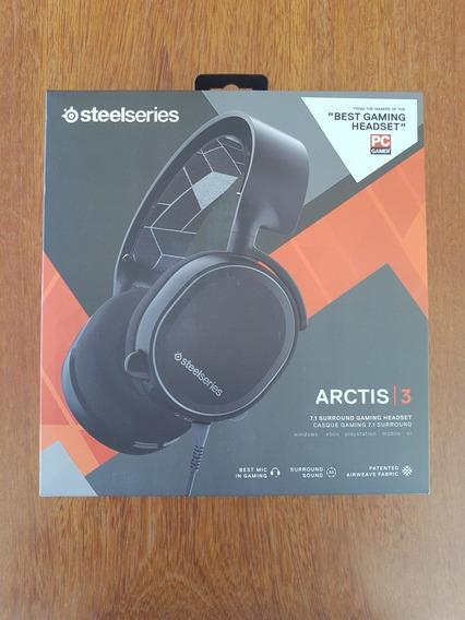 Headset Gamer Steelseries Arctis 3 Black 7.1