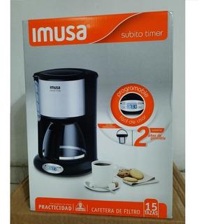 Cafetera Imusa Subito Timer