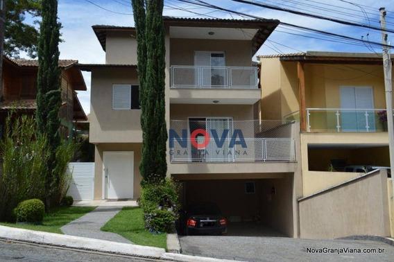Casa Com 3 Dormitórios À Venda, 248 M² Por R$ 950.000 - Nova Paulista - Jandira/sp - Ca1824