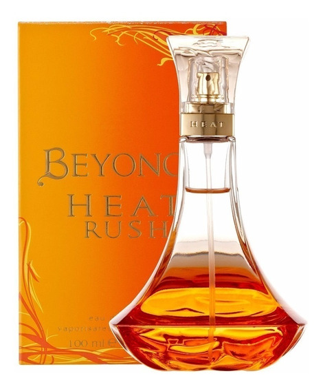 Perfume Beyonce Heat Rush Edt Feminino 100ml Original