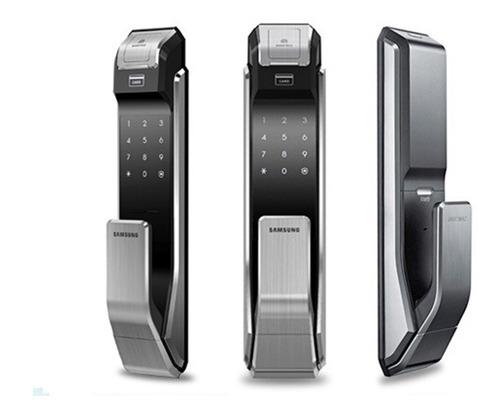 Cerradura Samsung Shs 718 Huella Biometrica Llavero Oficial
