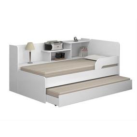 Bi-cama Multimóveis 0740 Branco Brilho