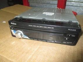 Dvd Philco Pca 660 Retrátil Retirada De Peças