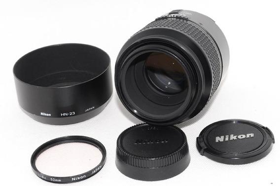 Lente Nikon 105mm 2.8 Macro Fullframe