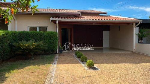 Casa À Venda, 160 M² Por R$ 640.000,00 - Condomínio Campos Do Conde 1 - Paulínia/sp - Ca1850