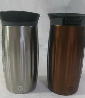 Vaso Aluminio Térmico Zak 12 Oz Especial Para Café ( Leer
