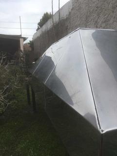 Campana Cocina Industrial Acero Inox 320cm De Lujo