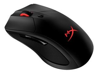 Mouse de juego inalámbrico HyperX Dart Pulsefire negro