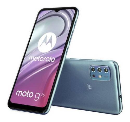 Imagen 1 de 4 de  Moto G20 64 GB azul cielo 4 GB RAM