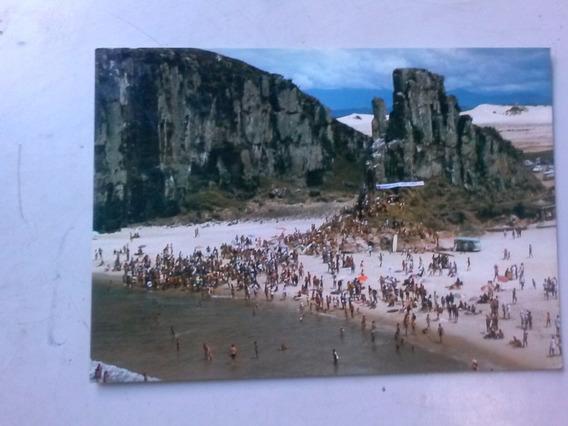 Cartão Postal - Praia Da Guarita - Torres Rs