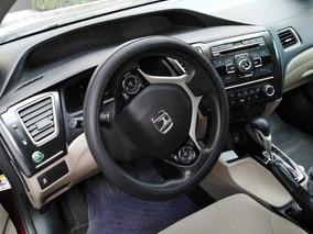 Honda Civic 1.8 Lx Sedan . At 2013. Q/c.
