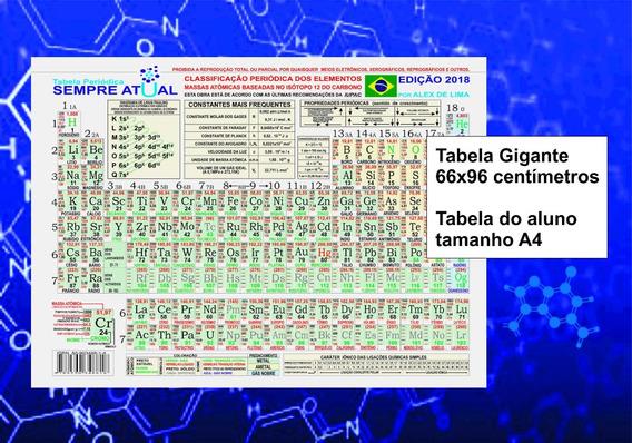 Tabela Periódica Sempre Atual Kit 100 Unid. Aluno+01 Prof
