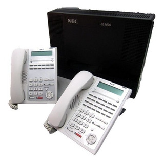Paq Conmutador Nec S L 1000 12 Lin 64 Ext +12 Tel + Disa