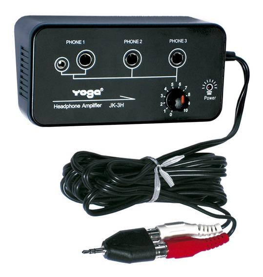 Amplificador Para Fone De Ouvido 3 Canais - Jk 3 H Yoga