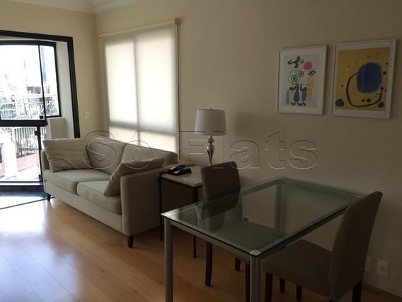 Flat No Itaim Bibi, Excelente Localização Para Moradia Ou Investimento - Sf25369