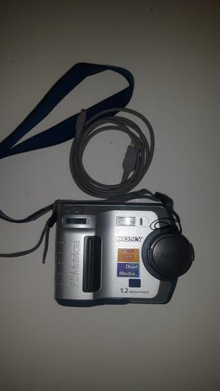 Câmera Digital Sony Mavica Fd 100 Dual Media