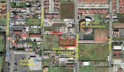 (crm-1391-2594) Venta De Terreno De 1300 M2 En Colonia Providencia Metepec