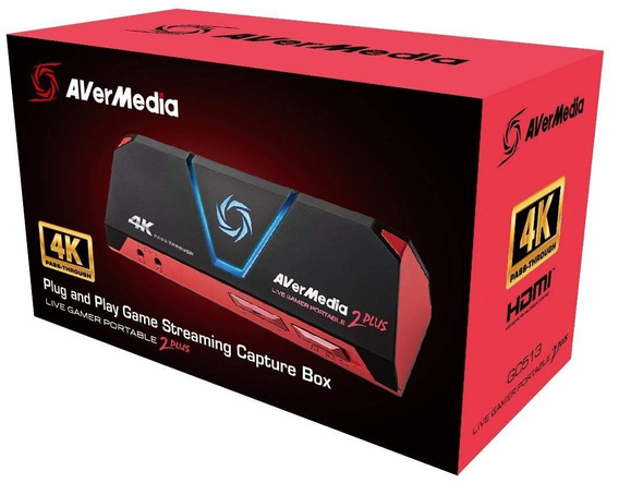 Capturadora Gamer Avermedia Gc513 Live Gamer Portable 2 Plus