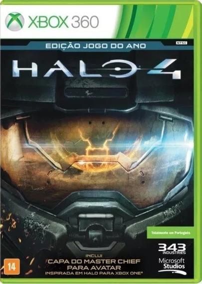 Halo 4 - Edição Jogo Do Ano Novo Lacrado Nacional