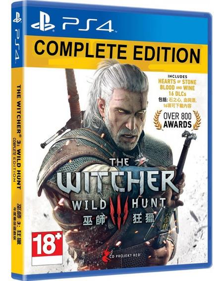 The Witcher 3 Ps4 Midia Fisica Game Lacrado Português Barato