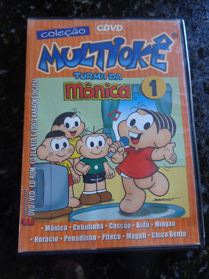 Dvd Coleção Multiokê: Turma Da Mônica Vol.1