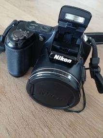 Nikon L820 Brinde Carregador 4 Pilhas Cartão De 4gb