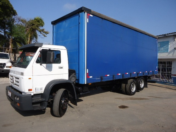 Vw 15180, Truck, Sider 8,20 X 2,95, Mwm, Excelente Estado