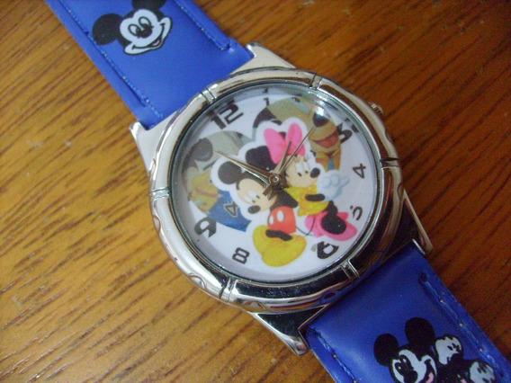 Relógio De Pulso Mickey Mouse Menino Criança Infantil 107
