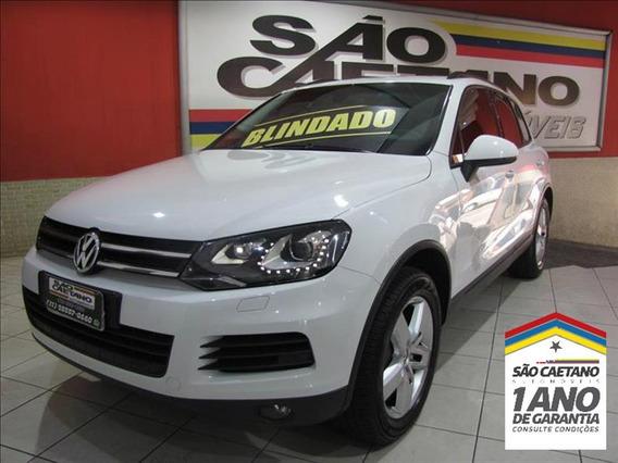 Volkswagen Touareg 2014 Blindada Com Garantia De Vidr