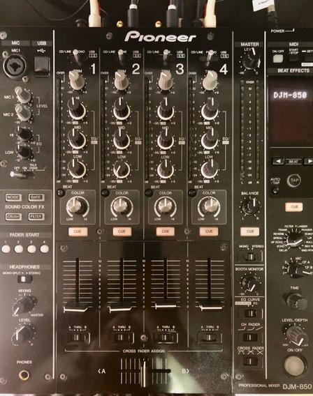 Mixer Pioneer Djm 850 K Estado Praticamente Novo