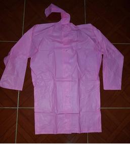 Impermeable Para Niño Tallas 6-18 Rojo, Amarillo Azul Y Rosa