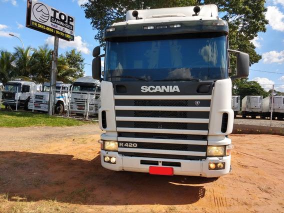 Scania R 420 6x2 2007 Evolução